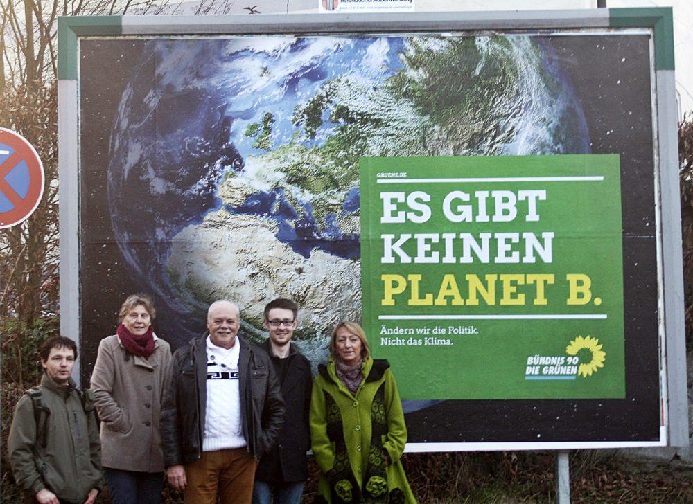 Grüne Plakatkampagne