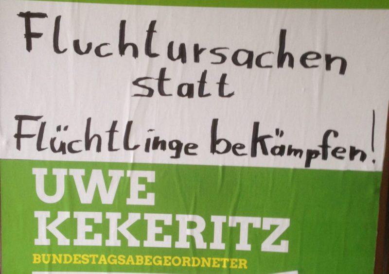 """Vortrag Uwe Kekeritz MdB: """"Fluchtursachen statt Flüchtlinge bekämpfen"""""""
