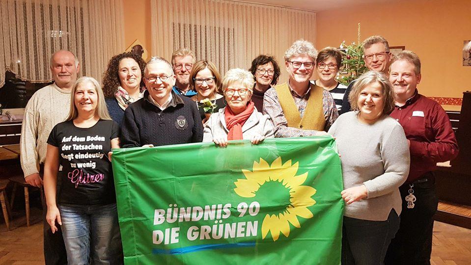 In bester GRÜNER Tradition: Listenaufstellung in Obermichelbach
