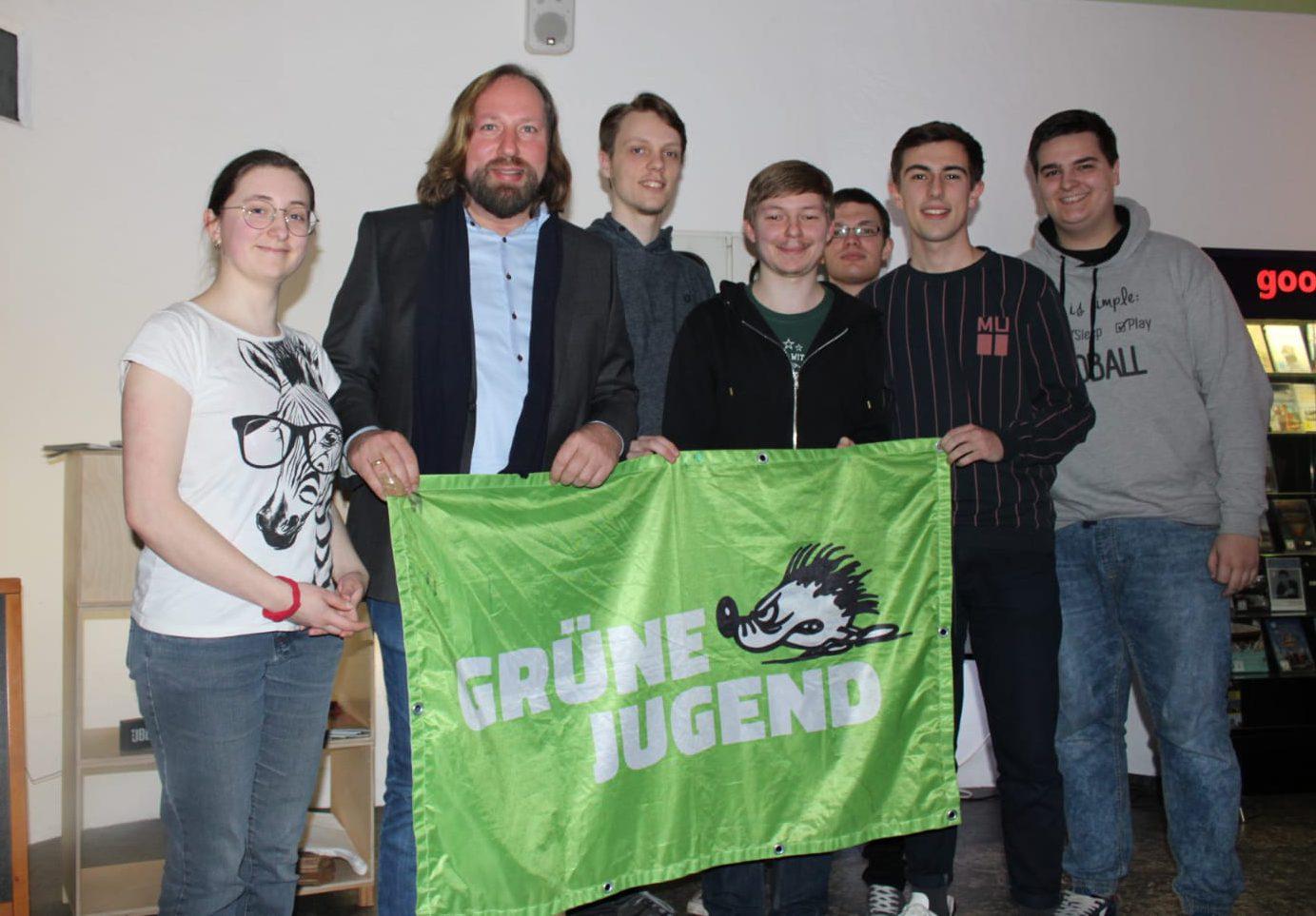 GJ mit Toni Hofreiter im Gespräch | Kundgebung zum Anschlag in Hanau