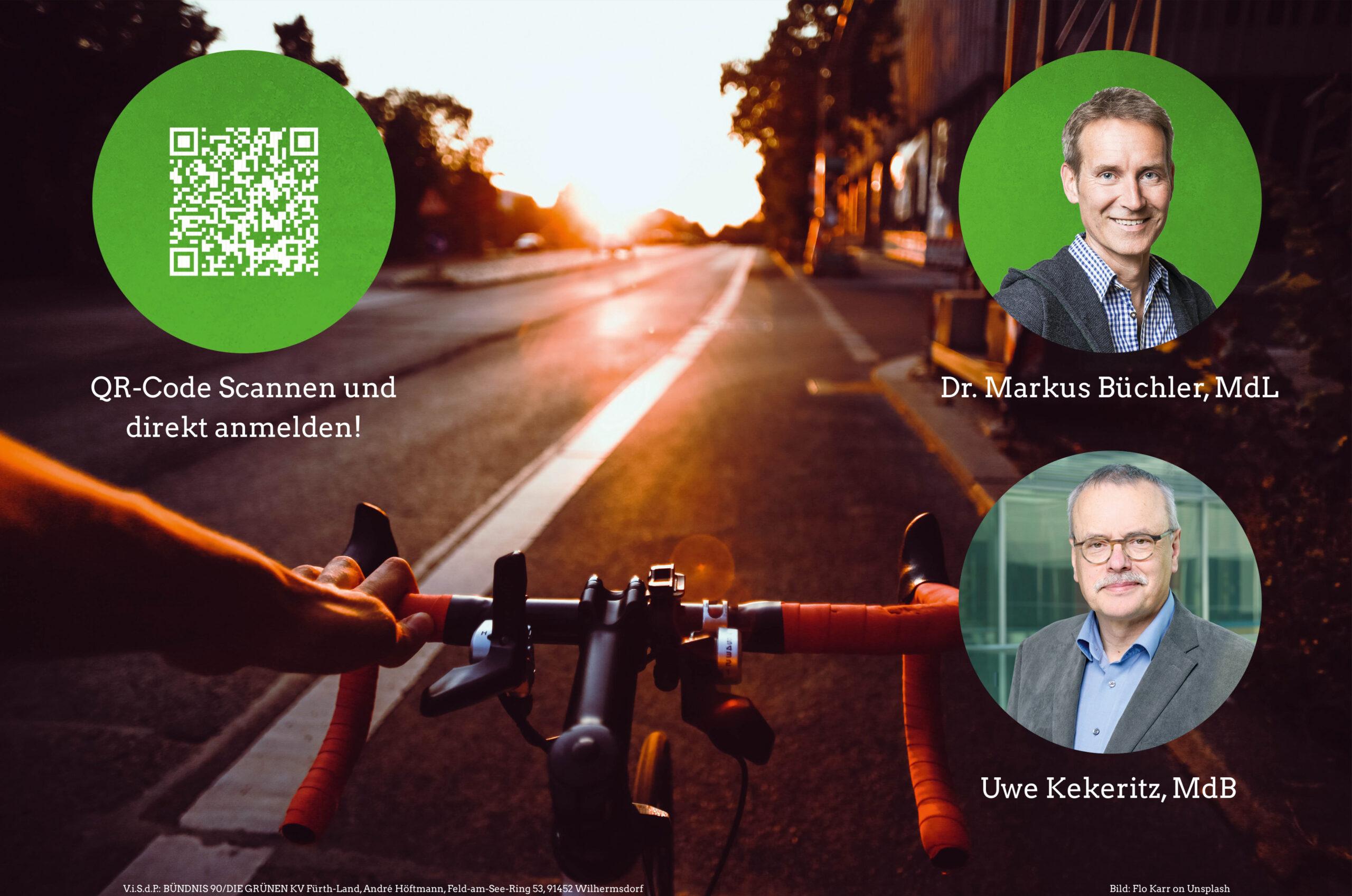 """Einladung: """"Wem gehört die Straße?!"""" – digitaler Diskussionsabend mit Markus Büchler, MdL und Uwe Kekeritz, MdB"""