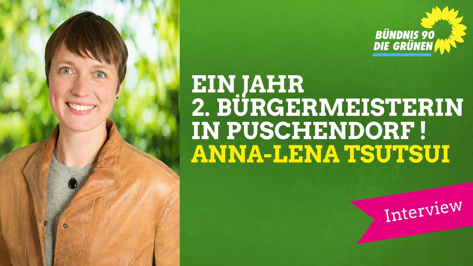 Ein Jahr 2. Bürgermeisterin! Interview mit Anna-Lena