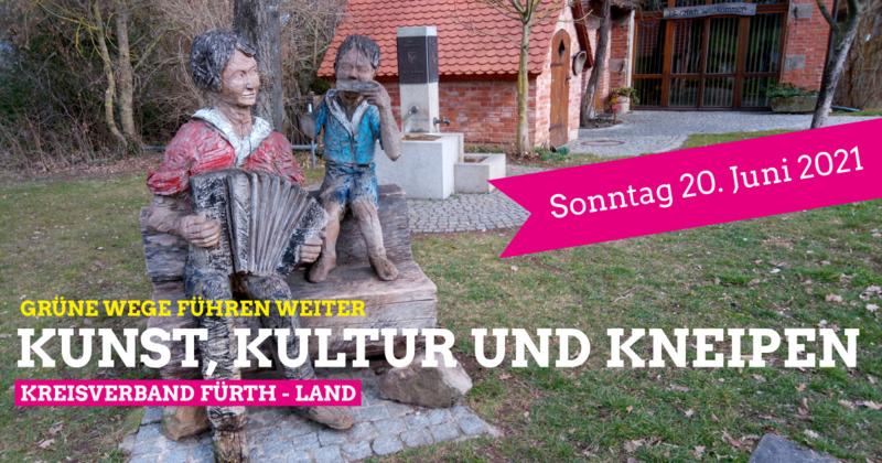 Grüne Wege 2021 – Skulpturenwanderung in Ammerndorf am Sonntag