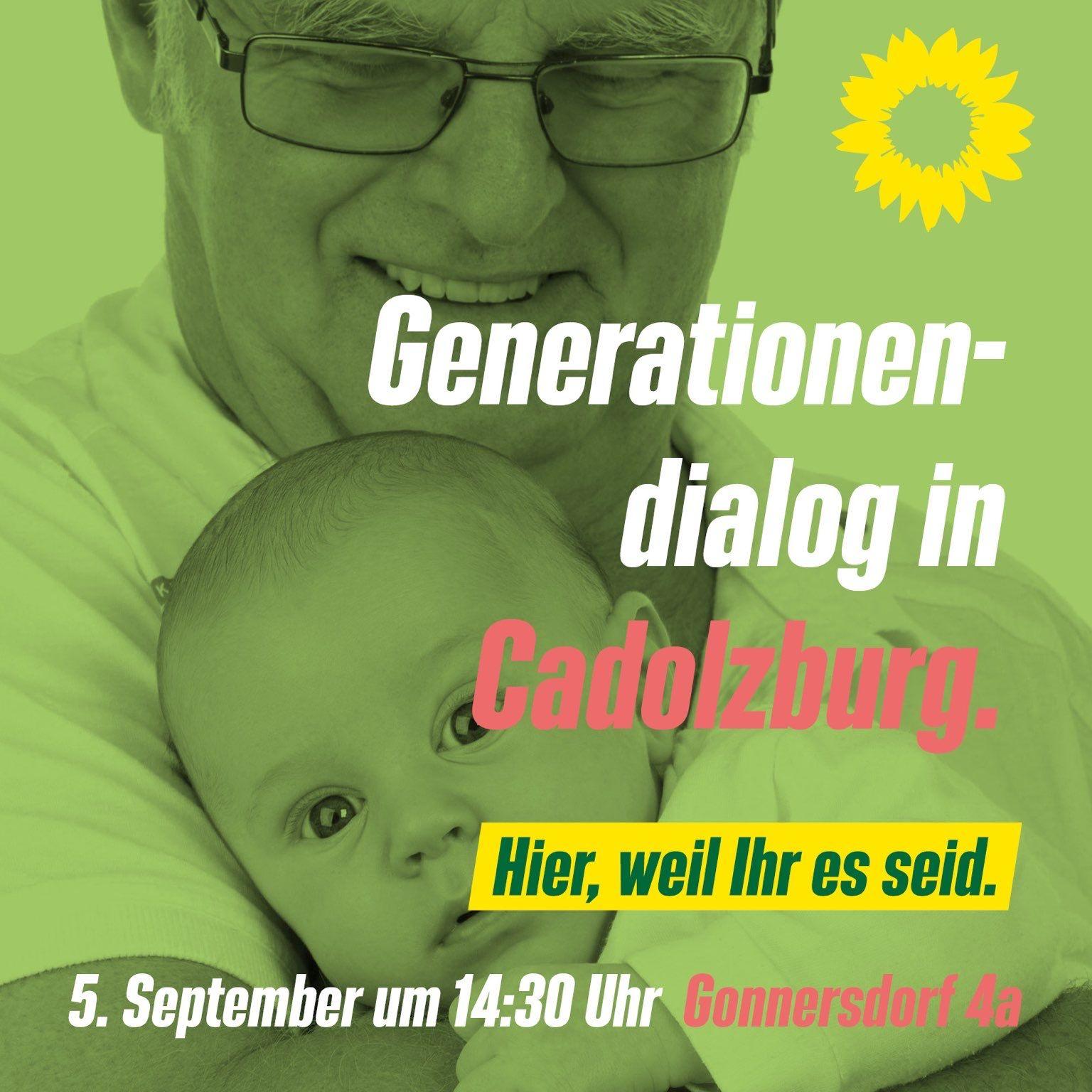 Generationendialog in Cadolzburg – mit Uwe Kekeritz