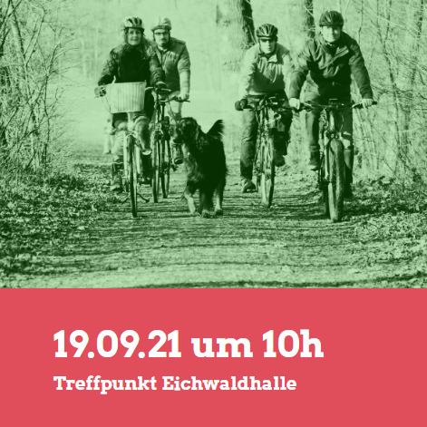 Einladung: Radtour mit Uwe Kekeritz in Puschendorf